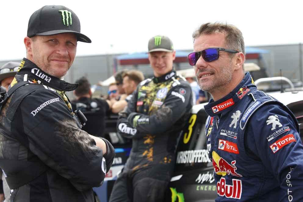 Drei Weltmeister in einer Rallye: Sébastien Loeb, Sébastien Ogier und Petter Solberg