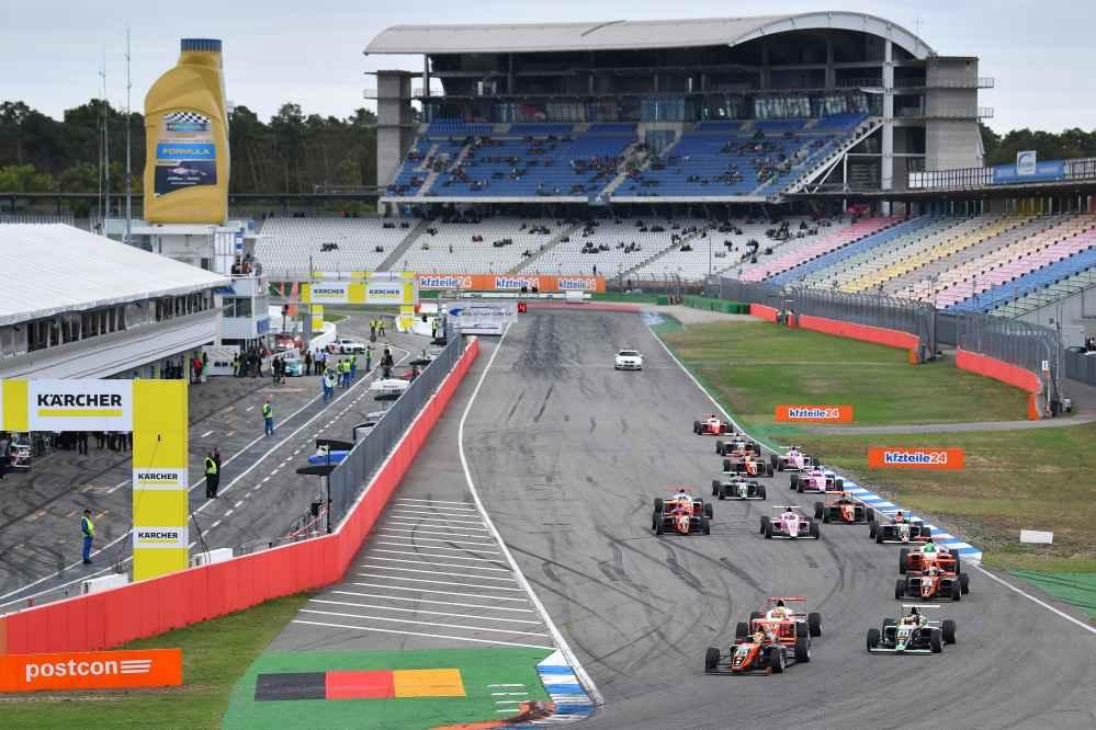 Packend: Das zweite Rennen des Samstags sorgte für Spannung pur