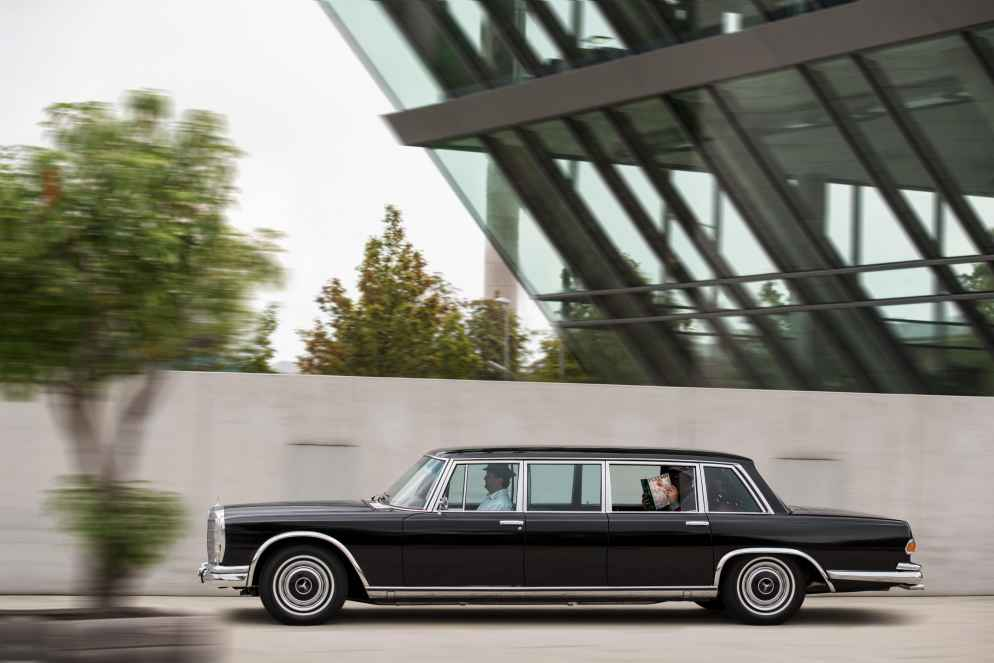 Ehemaliger Mercedes-Benz 600 Pullman von Hugh Hefner