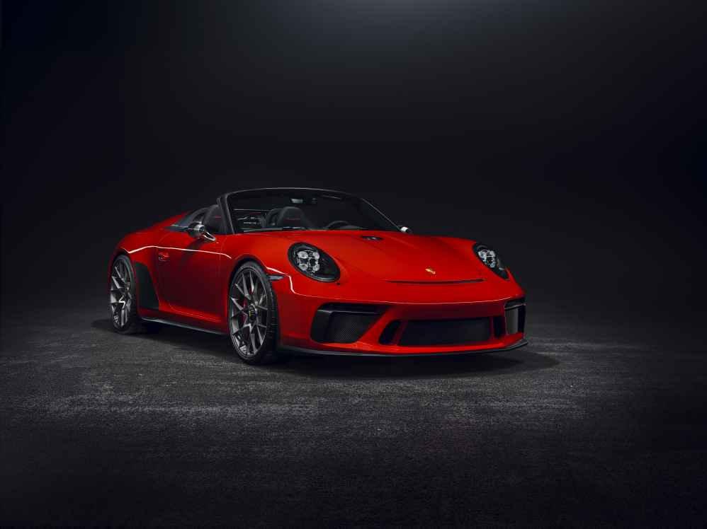 Premiere in Paris Autosalon: Der Porsche 911 Speedster geht in Serie