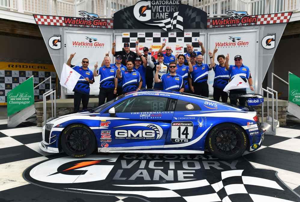 Meisterteam aus der Pirelli World Challenge in GT4-Klasse am Start