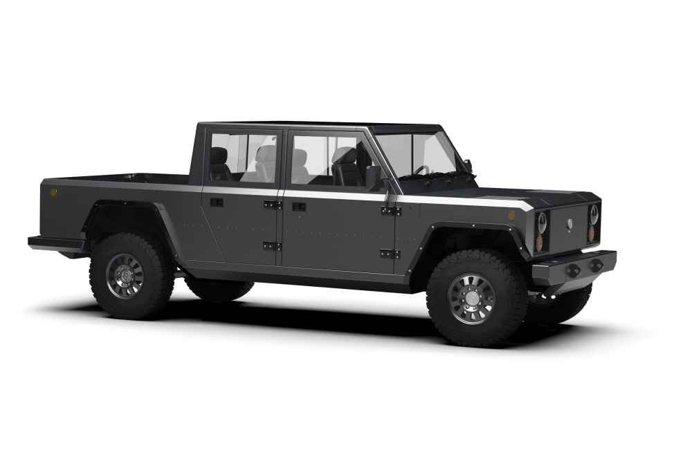 Pick-up unter Strom: Bollinger B2 soll 2020 in Serie gehen