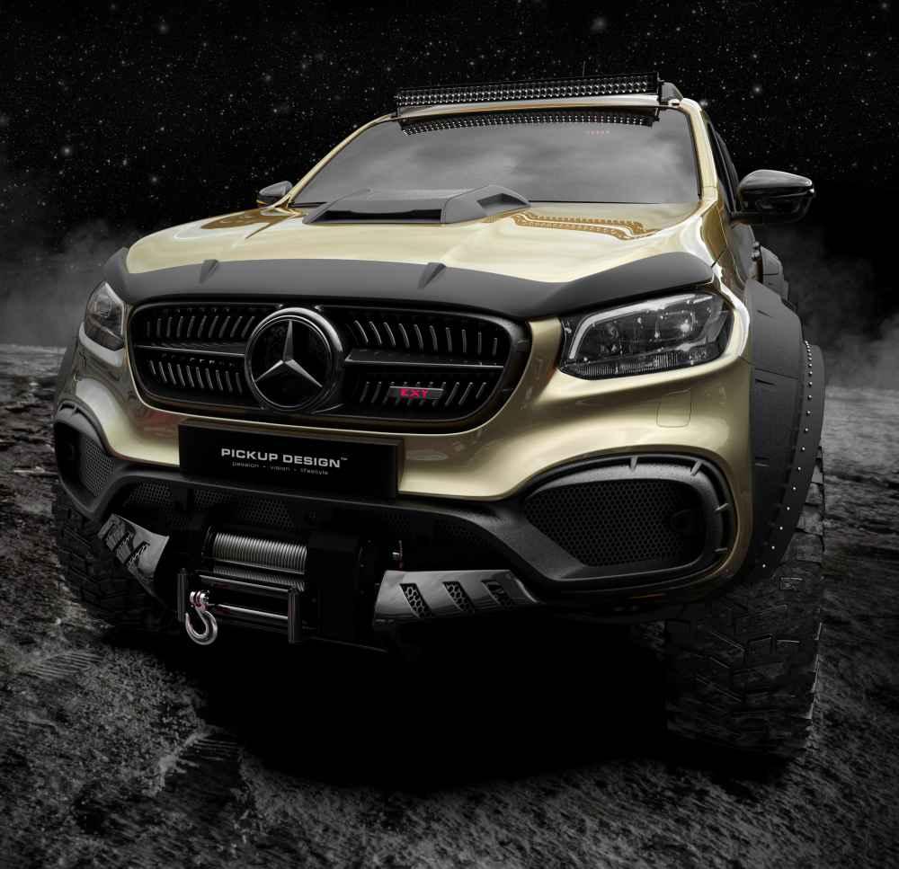 Mercedes-Benz X-Class Exy 6×6 Concept von Carlex.