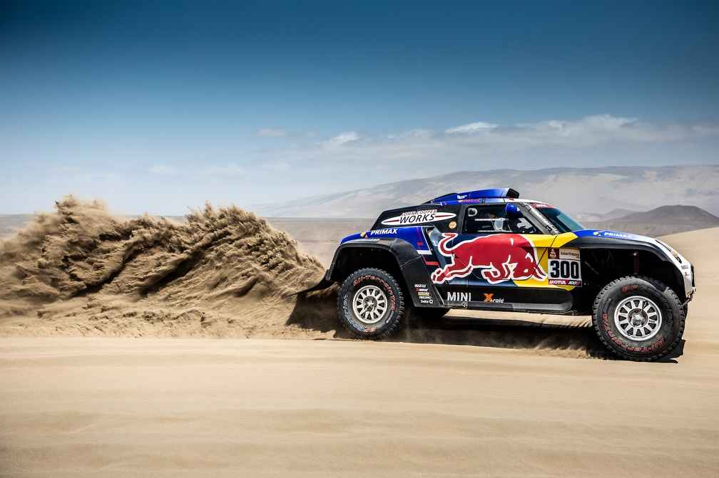 Rallye Dakar SS6: Alle drei MINI JCW Buggy in den Top 10