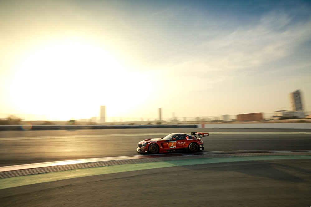Mercedes-AMG GT3 Nr.3, Abu Dhabi Racing BLACK FALCON