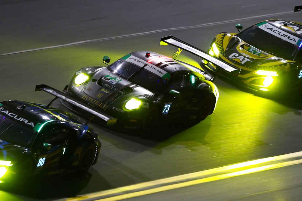 Park Place Motorsports: Patrick Lindsey, Patrick Long, Matt Campbell, Nicholas Boulle