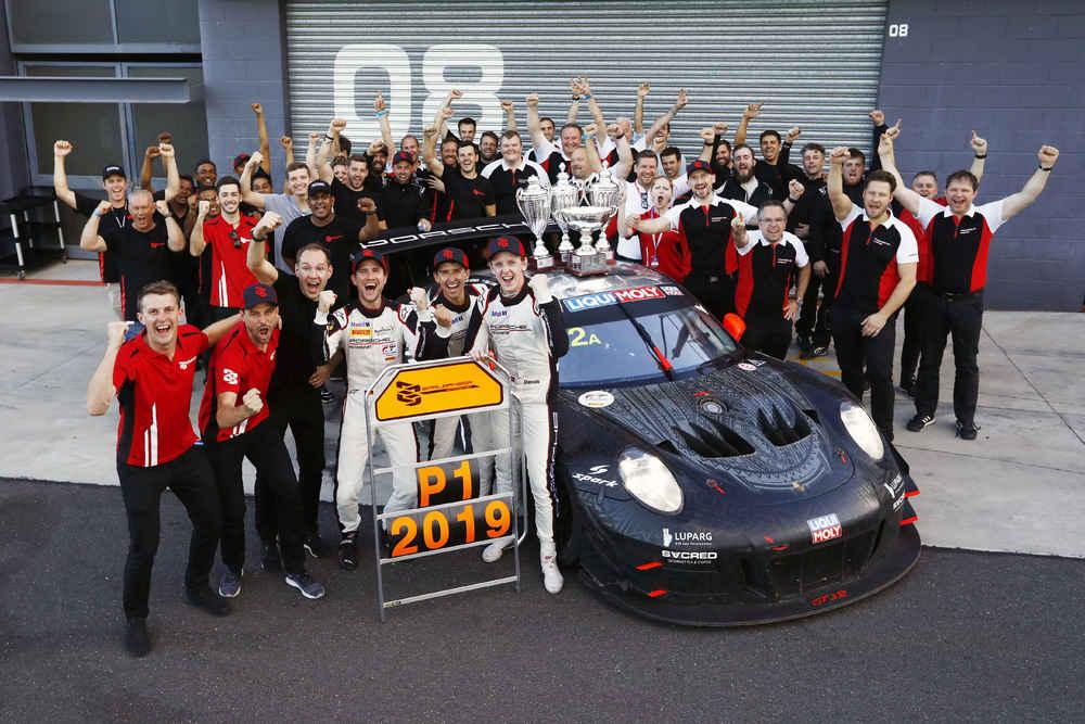 Sieger 12h Bathurst, Team EBM (Earl Bamber Motorsport)