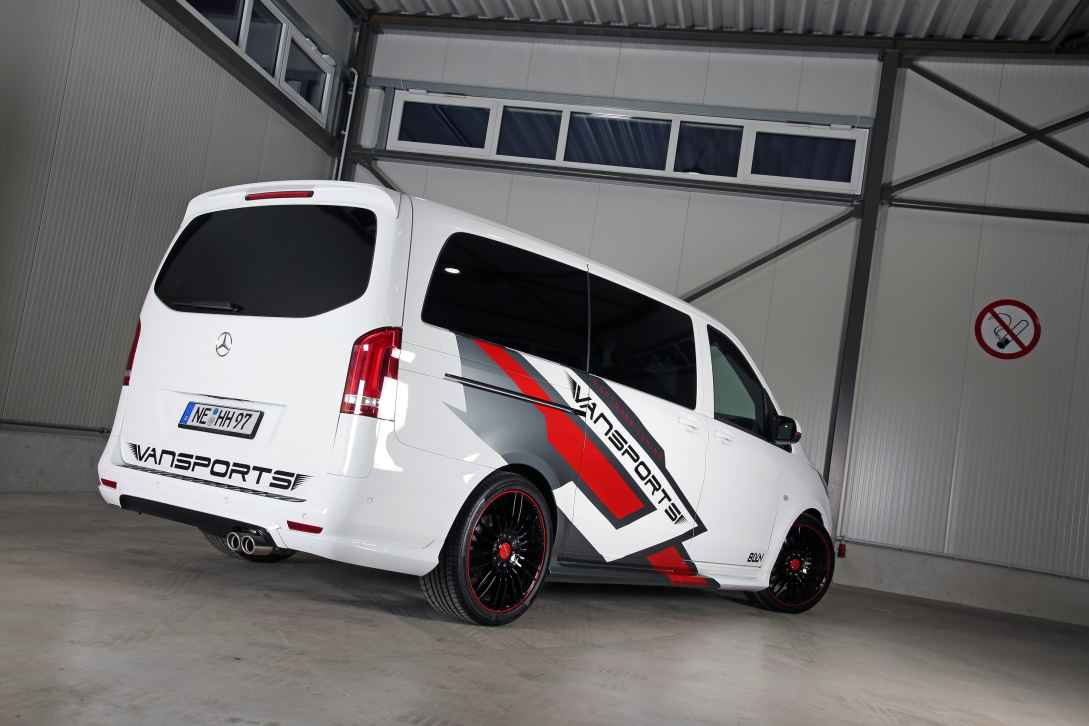 Mercedes-Benz Vito 119 Mixto VP Spirit von Vansports