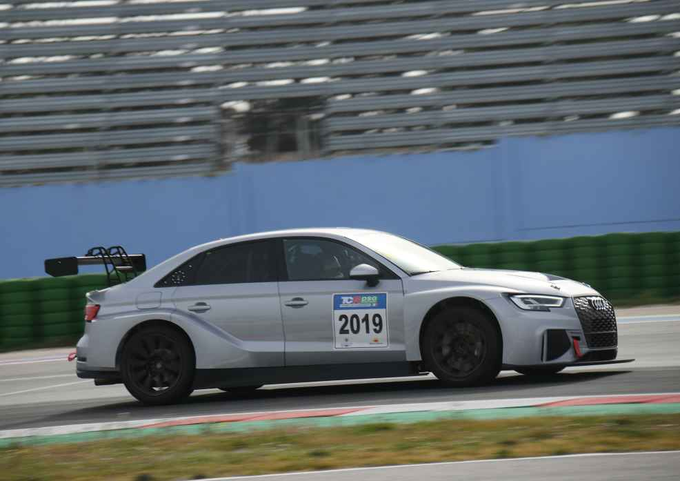 Dindo Capello testet Audi RS 3 LMS in Italien