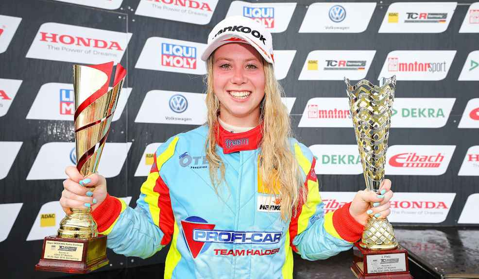 Michelle Halder erneut in der ADAC TCR Germany