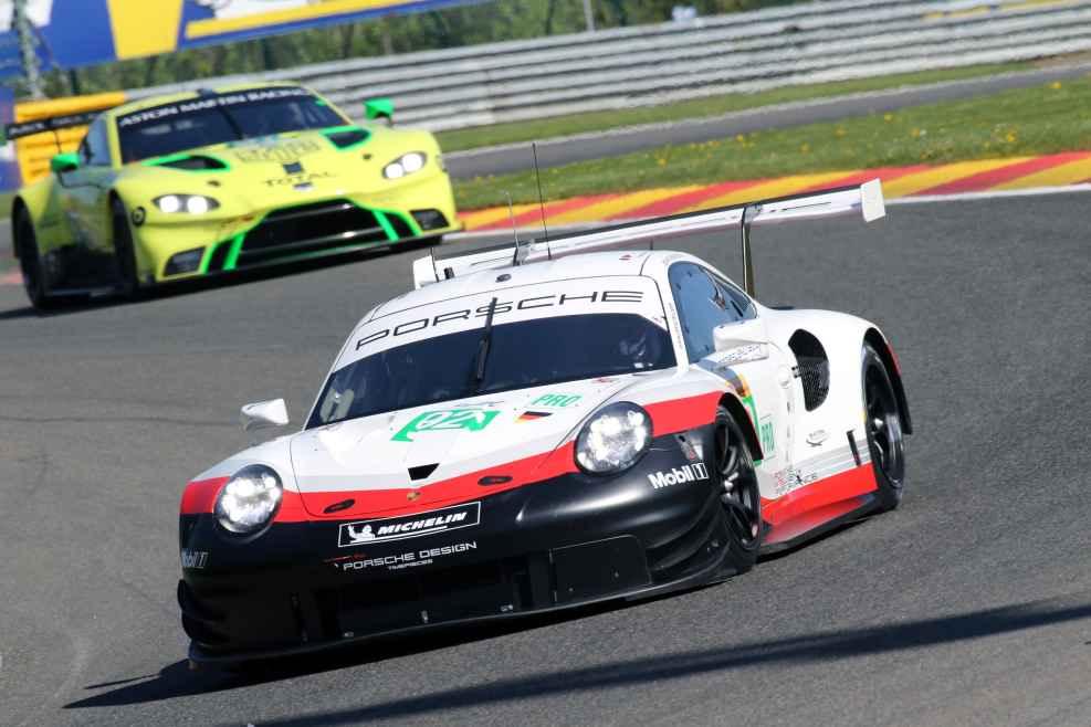 Überlegen an der Spitze der GT Pro. Porsche mit Kevin Estre und Michael Christensen