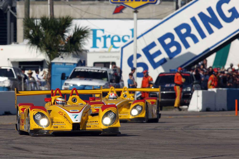 2008: Porsche RS Spyder, Penske Racing: Timo Bernhard (D), Emmanuel Collard (F), Romain Dumas (F)