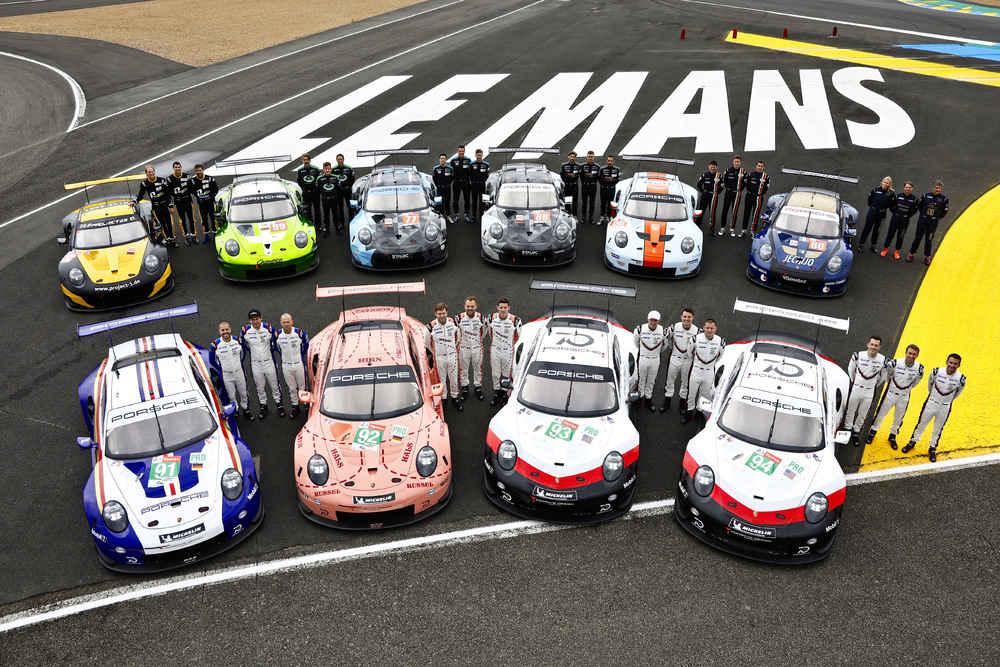 Le Mans 2018: Insgesamt zehn Porsche 911 RSR im Starterfeld