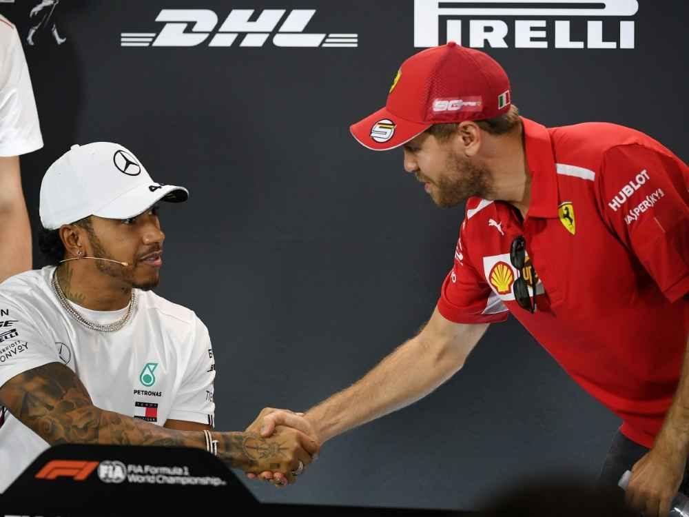 Hamilton Schnellster im 3. Training vor Vettel und Leclerc