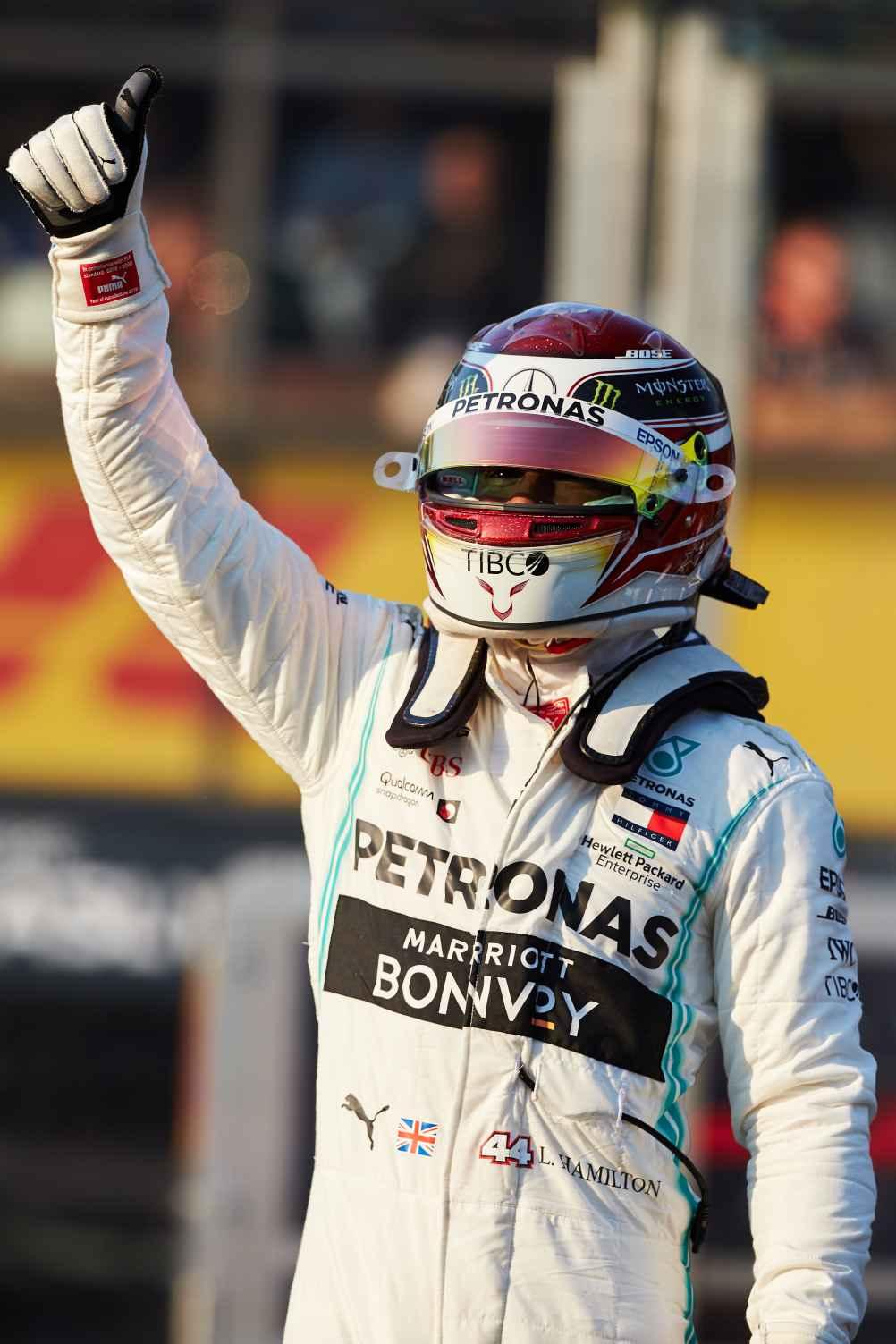 Hamilton holt erste Pole Position der Saison