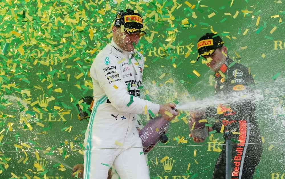 Valtteri Bottas ist im Mercedes der Sieger im GP Australien 2019