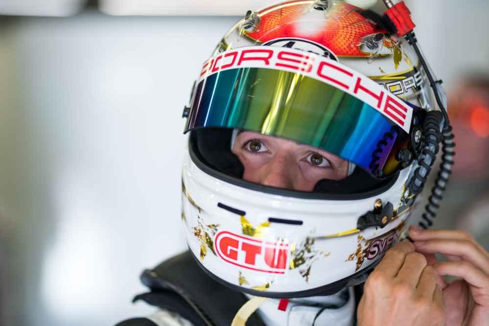 Porsche 911 GT3 R, Park Place Motorsports #911, Sven Müller (D)