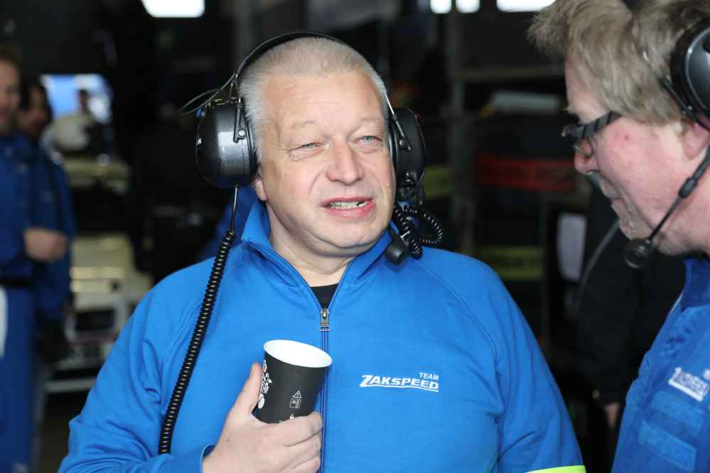 Zakspeed Teamchef Peter Zakowski