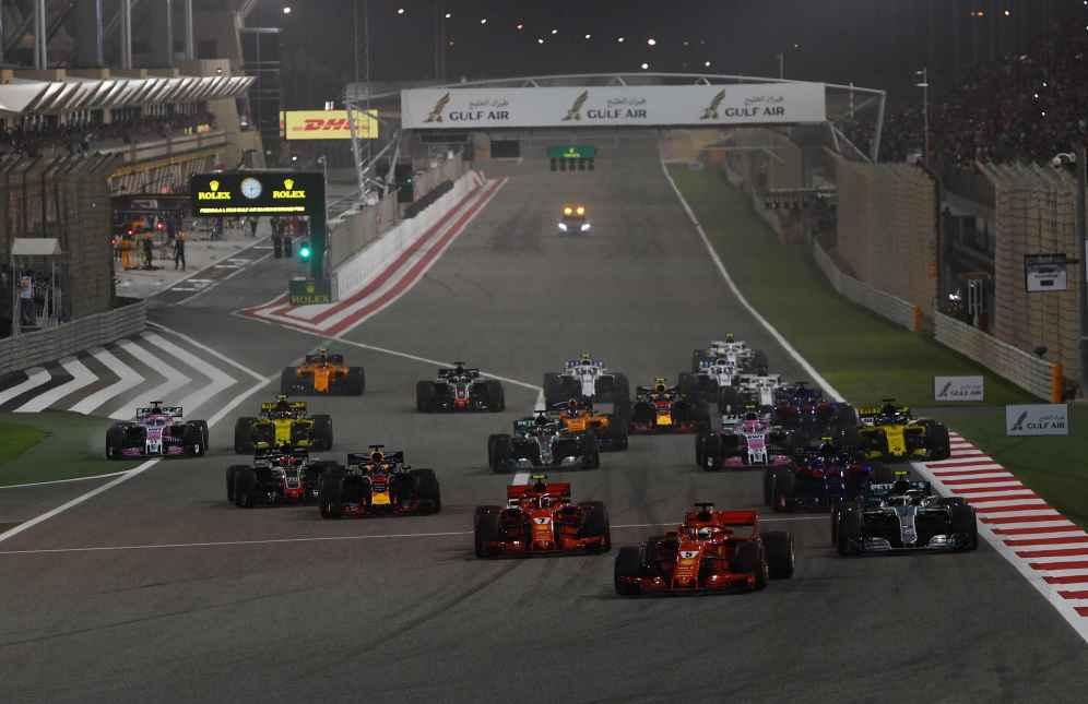 Formel 1 GP Bahrain 2018 Start