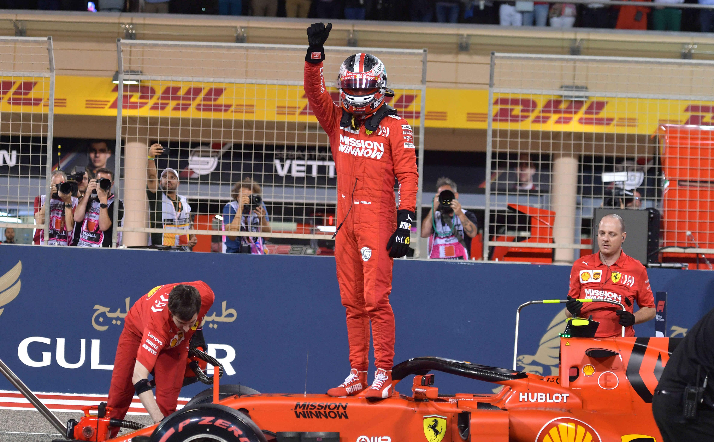 Leclerc beim 2. Rennen in der F1 Saison bereits auf Pole
