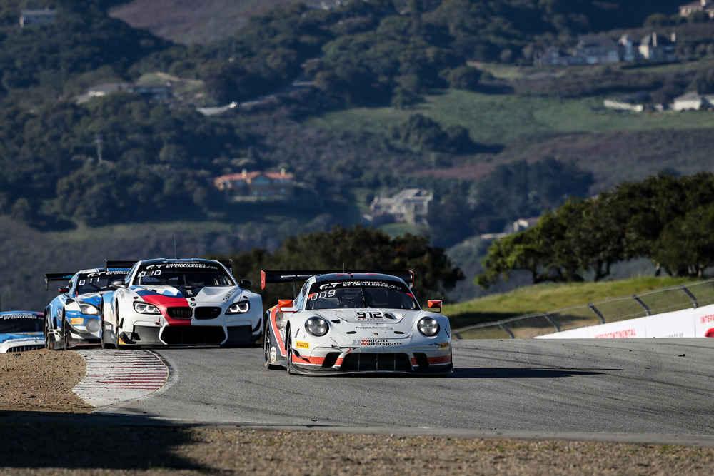 Porsche 911 GT3 R (912), Wright Motorsports: Dirk Werner, Matt Campbell, Dennis Olsen