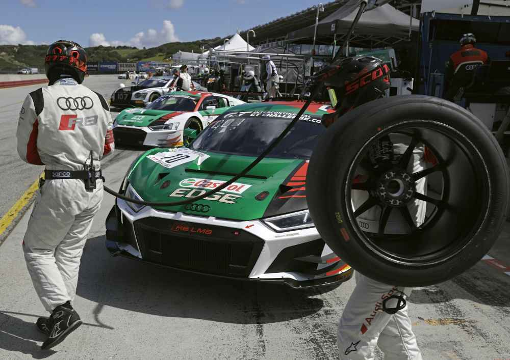 Plätze vier und sieben für Audi Sport customer racing bei den California 8 Hours