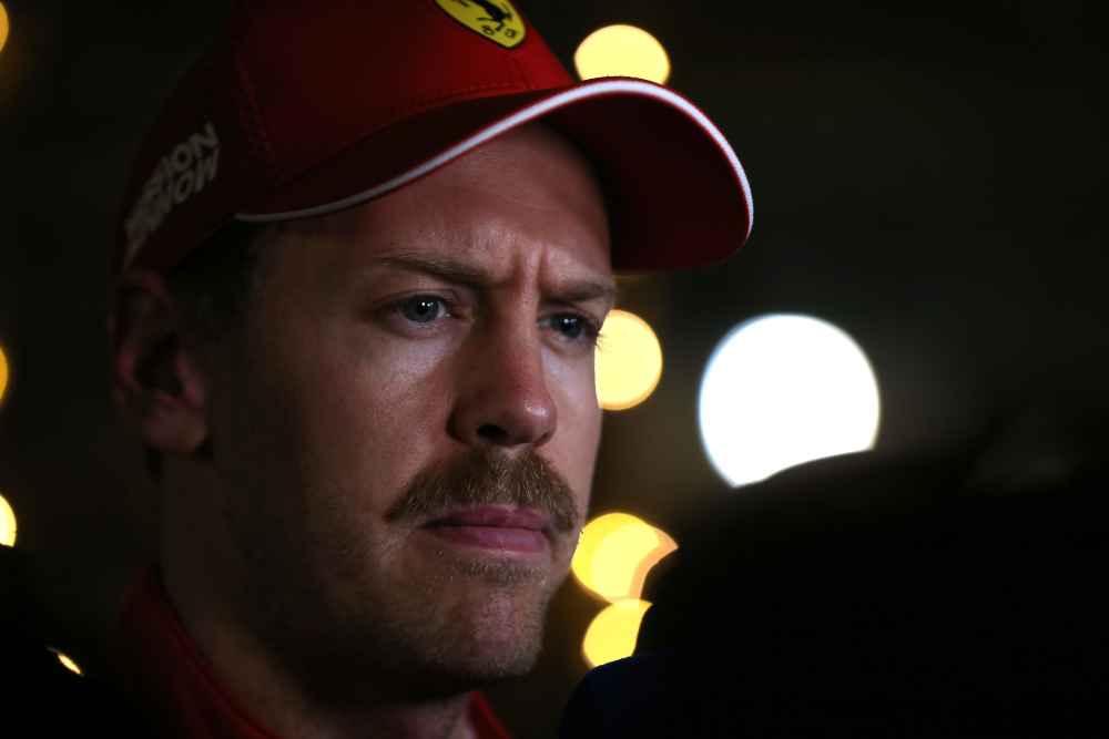 Sebastian Vettel mit viel Pech beim Bahrain Grand Prix
