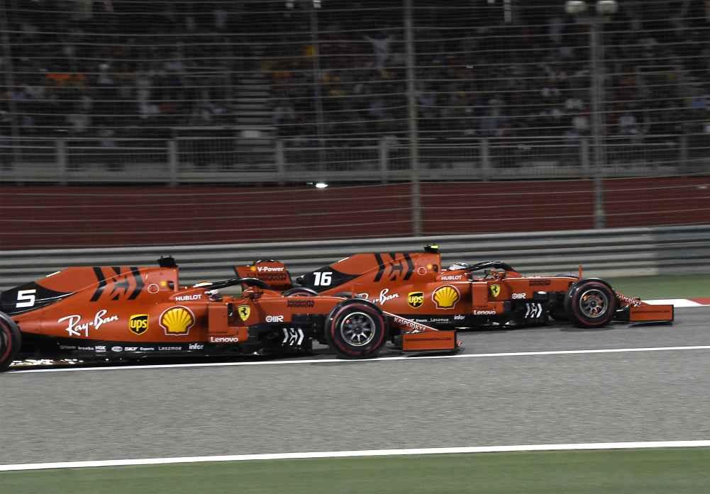 Leclerc überholt Vettel beim GP Bahrain