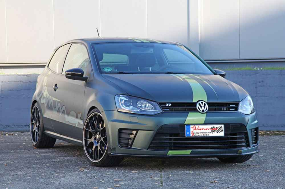 420 PS im VW Polo made by Wimmer