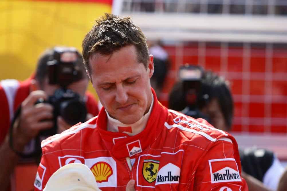 Siebenfacher F1 Weltmeister Michael Schumacher (Foto von 2006)