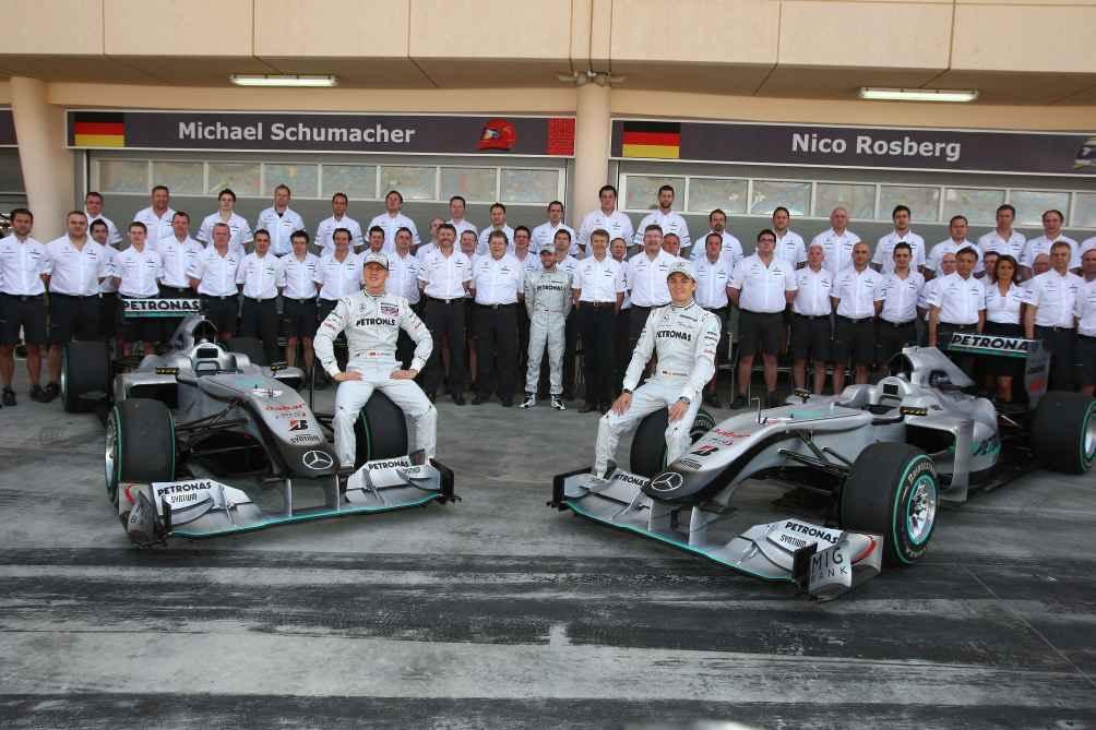 Seit 2010 unterhält Mercedes wieder ein eigenes Werksteam in der höchsten Motorsportklasse