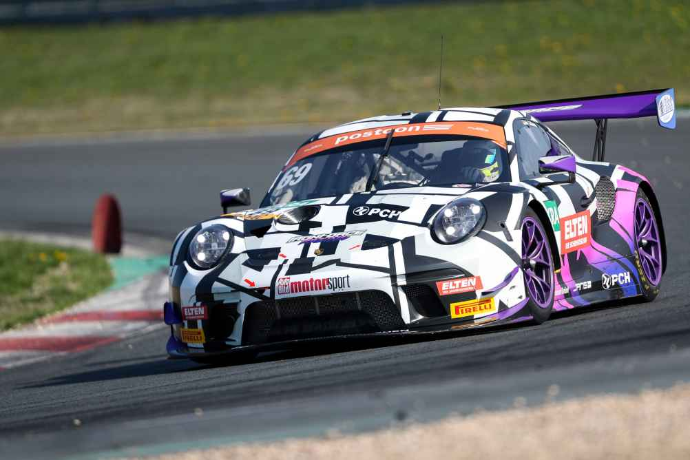 Publikumsliebling: der Porsche von IRON FORCE RACING