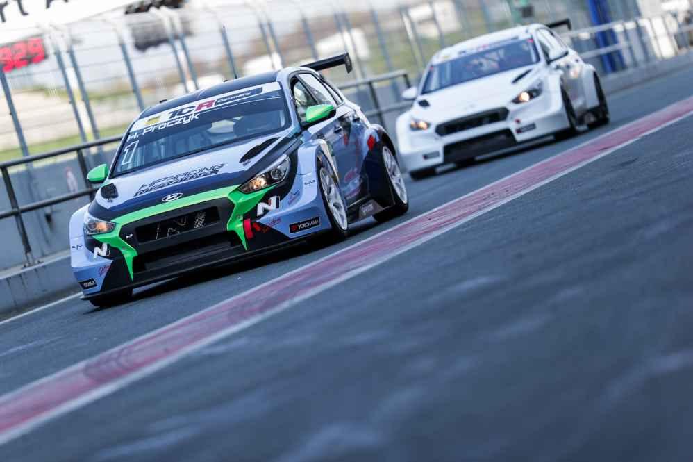 Harald Proczyk greift in dieser Saison im Hyundai i30 N TCR an
