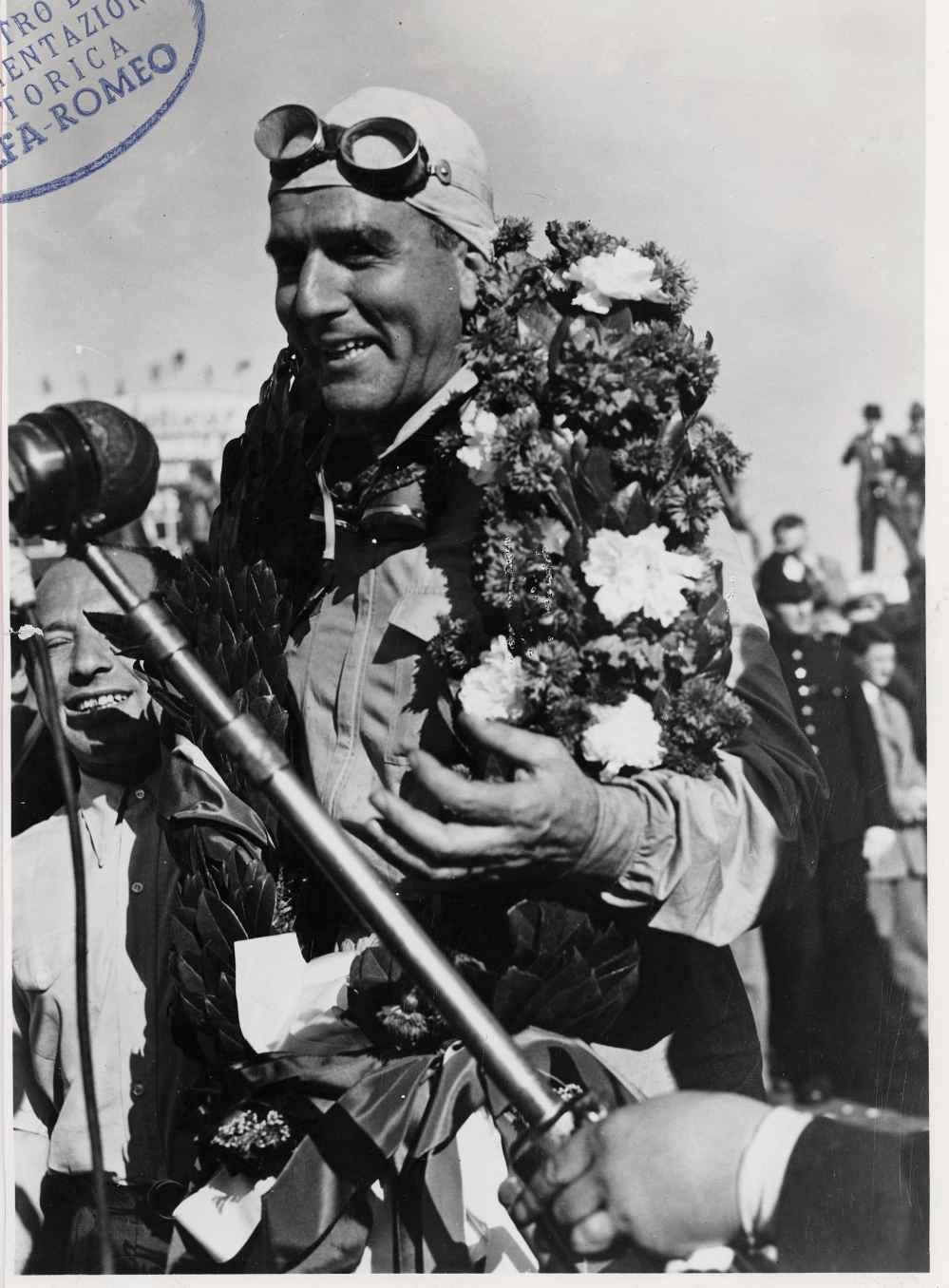 GP von Silverstone 1950: Nino Farina Sieg im Alfa Romeo 158