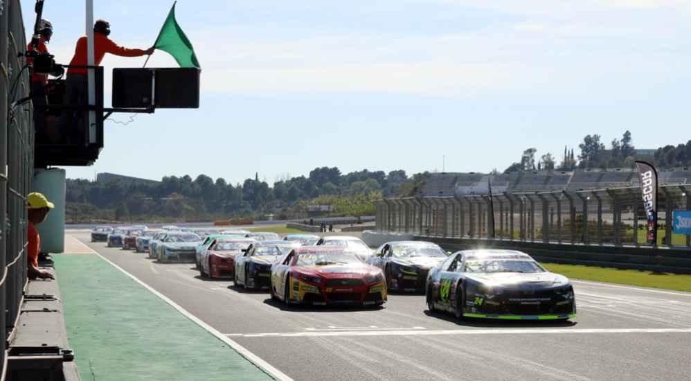 Start - Elite 2 - Valencia (ESP) NASCAR Wheelen Europe Series