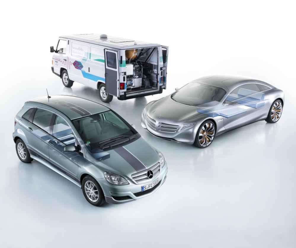 Evolution der Brennstoffzellentechnologie bei Daimler
