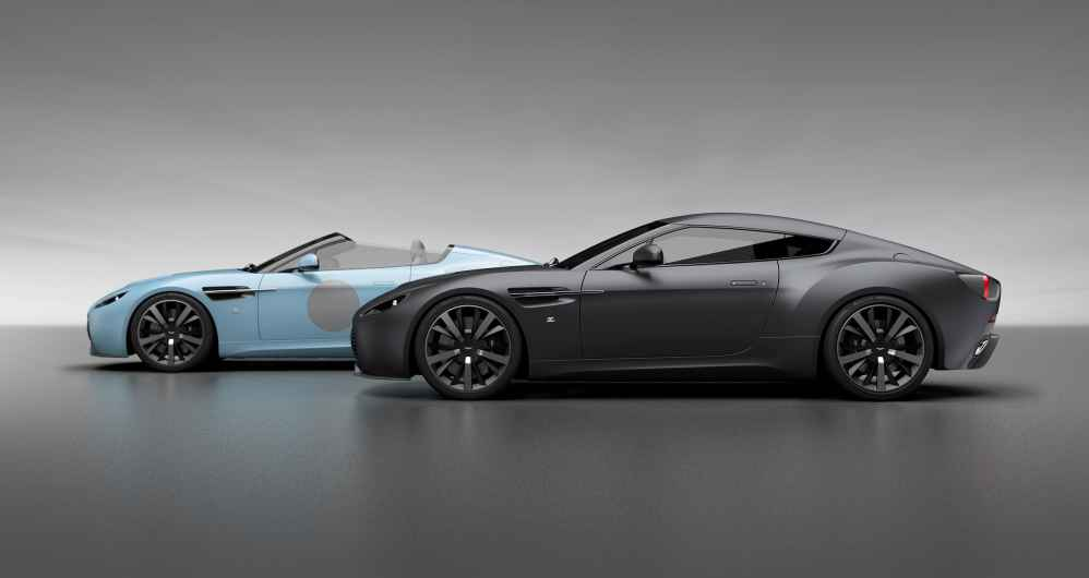 Aston Martin V12 Zagato Heritage Twins by R-Reforged