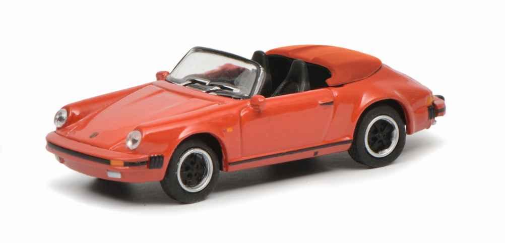 Porsche 911 Carrera 3.2 Speedster von Schuco im Maßstab 1:87
