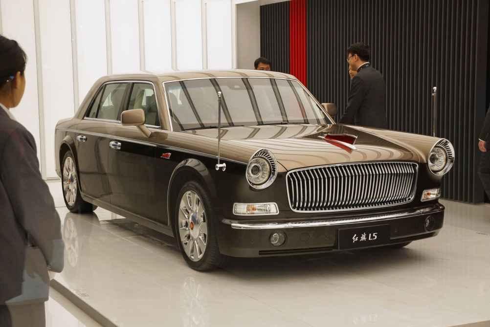 Auto China in Shanghai ganz chinesisch: Hongqi LS