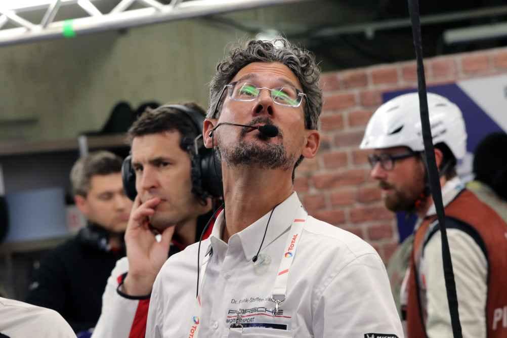 Porsche GT-Rennchef Dr. Frank Steffen Walliser