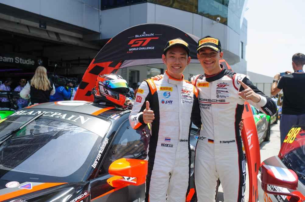 Porsche 911 GT3 R, Absolute Racing 911: Tanart Sathienthirakul, Philip Hamprecht