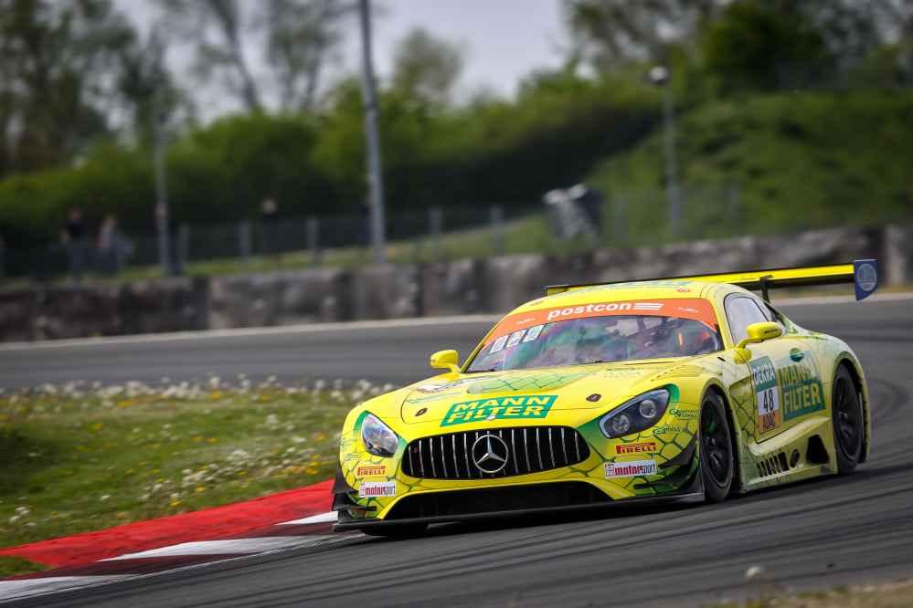 Fabian Vettel und Philip Ellis fuhren den schnellsten Mercedes-AMG