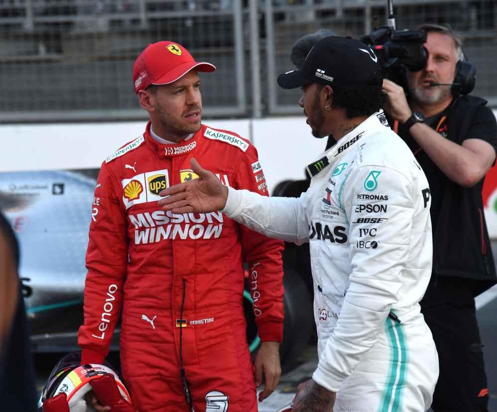Vettel startet morgen aus P3 und Hamilton aus P2