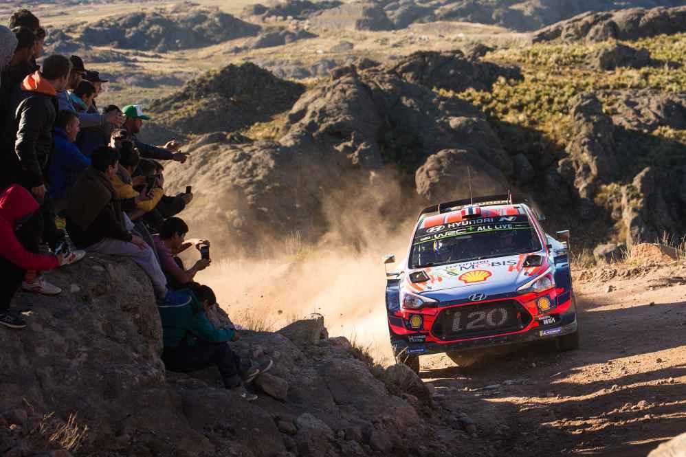 Hyundai Motorsport baut Führung in der Herstellerwertung aus