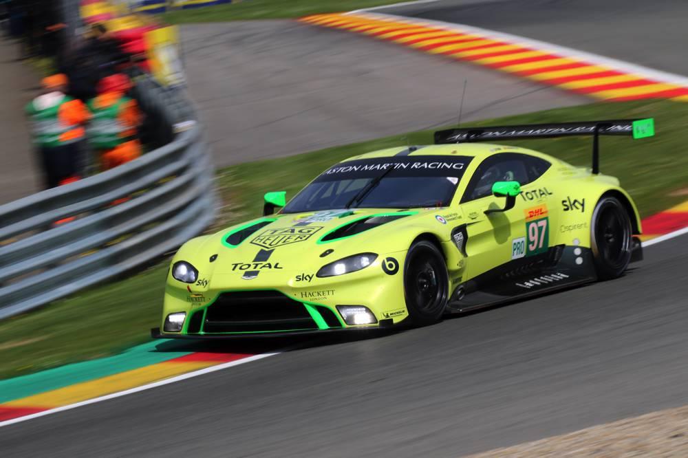 Aston Martin schnellster GT-Pro