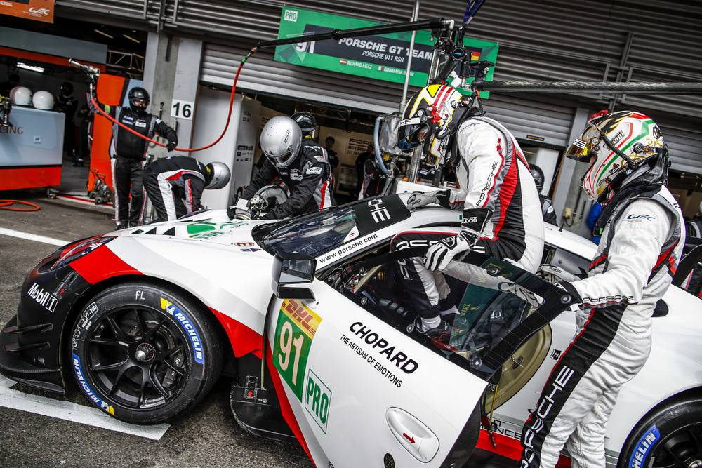 Porsche GT Team (91), Gianmaria Bruni (I), Richard Lietz (A)