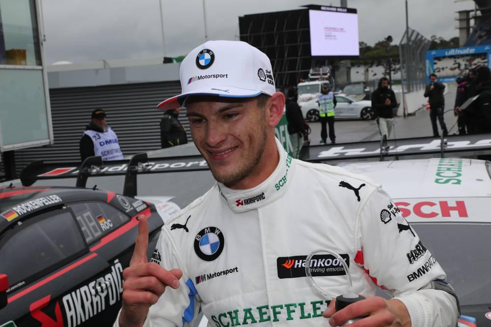 Marco Wittmann freut sich über die Pole Position zum Auftakt