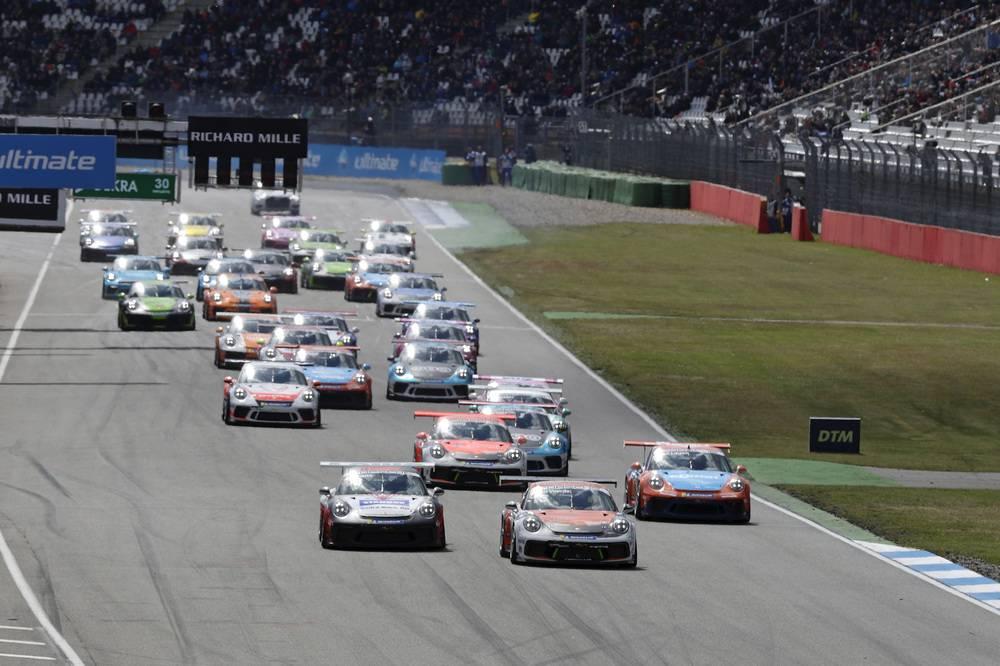 Start: Porsche Carrera Cup Deutschland, Hockenheimring 2019