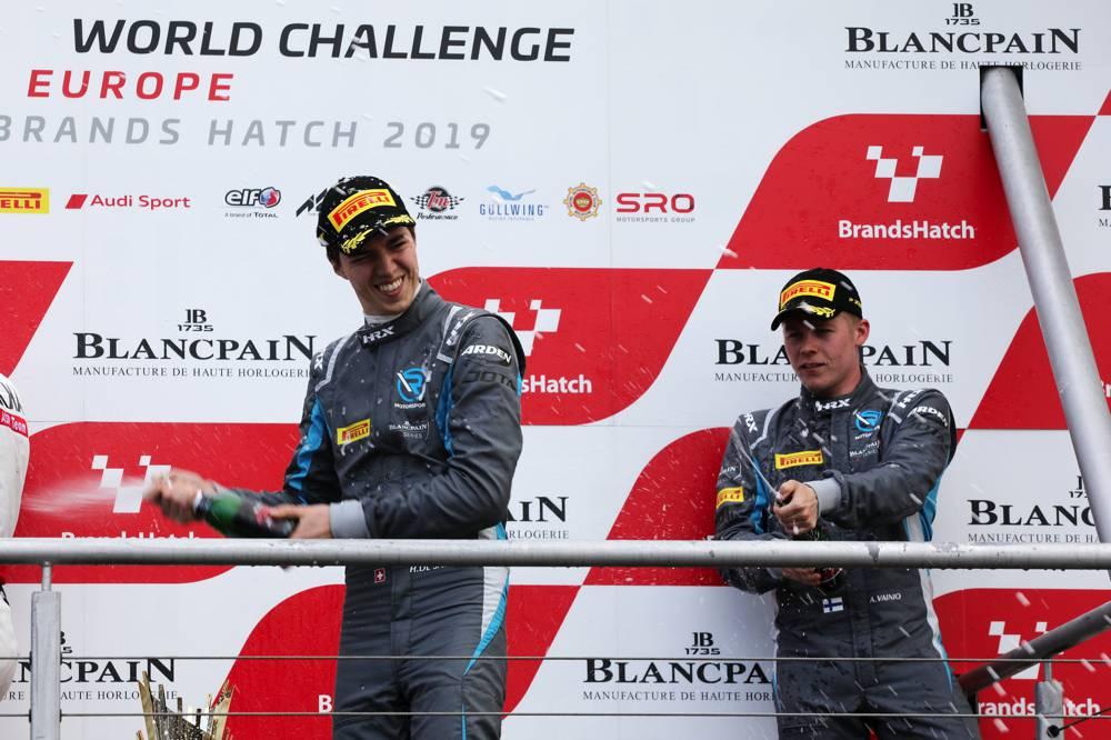 Aaro Vainio und Hugo de Sadeleer holten im Silver Cup Platz drei