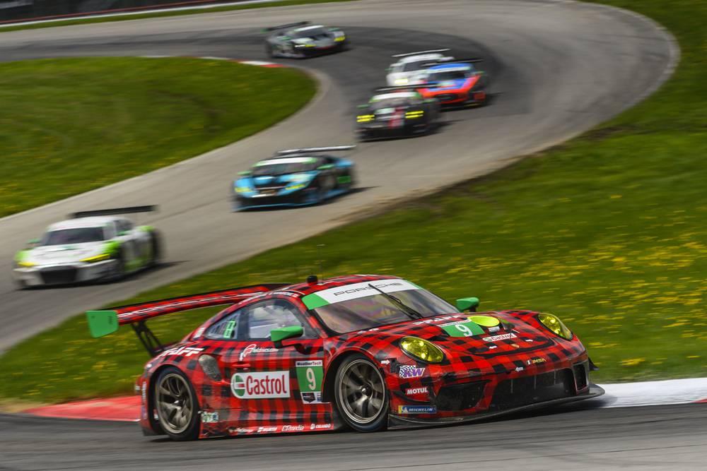 Porsche 911 GT3 R (9), Pfaff Motorsports: Scott Hargrove, Zacharie Robichon